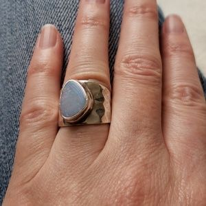 Jewelry - STERLING • Opal ring